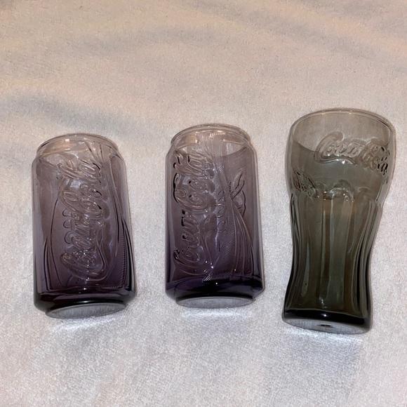 Set of 3 - Coca Cola glasses